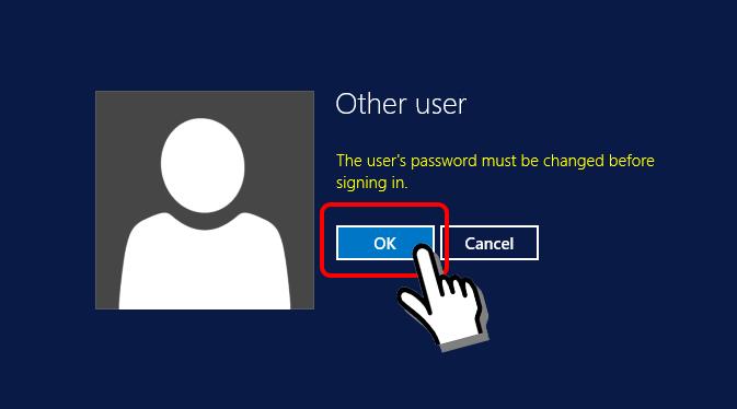 Màn hình xác nhận thay đổi mật khẩu vps BeeksFX