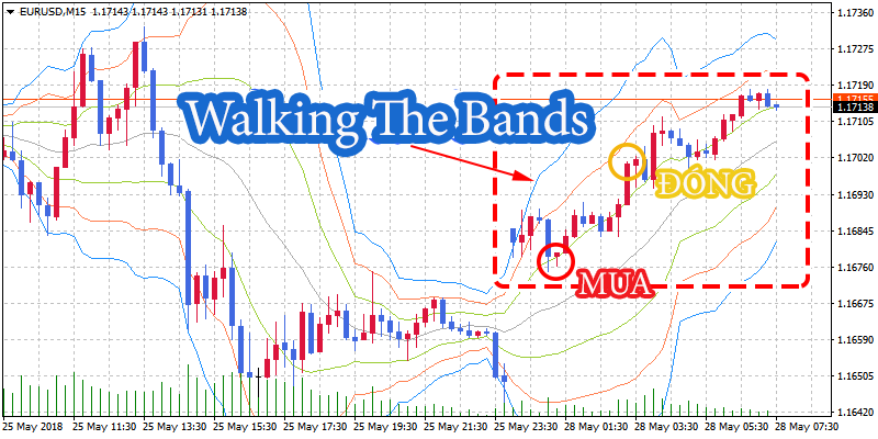 bollinger band band walk