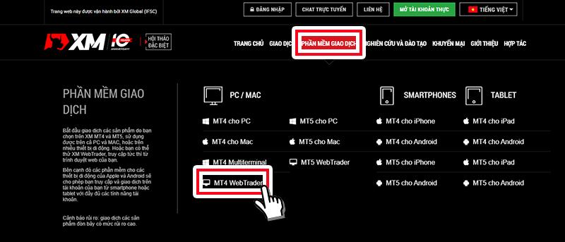 XM MT4 Web